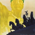 Design van het Derde Rijk. Poster Olympische Spelen, 1936. (Muenchener Stadtmuseum)