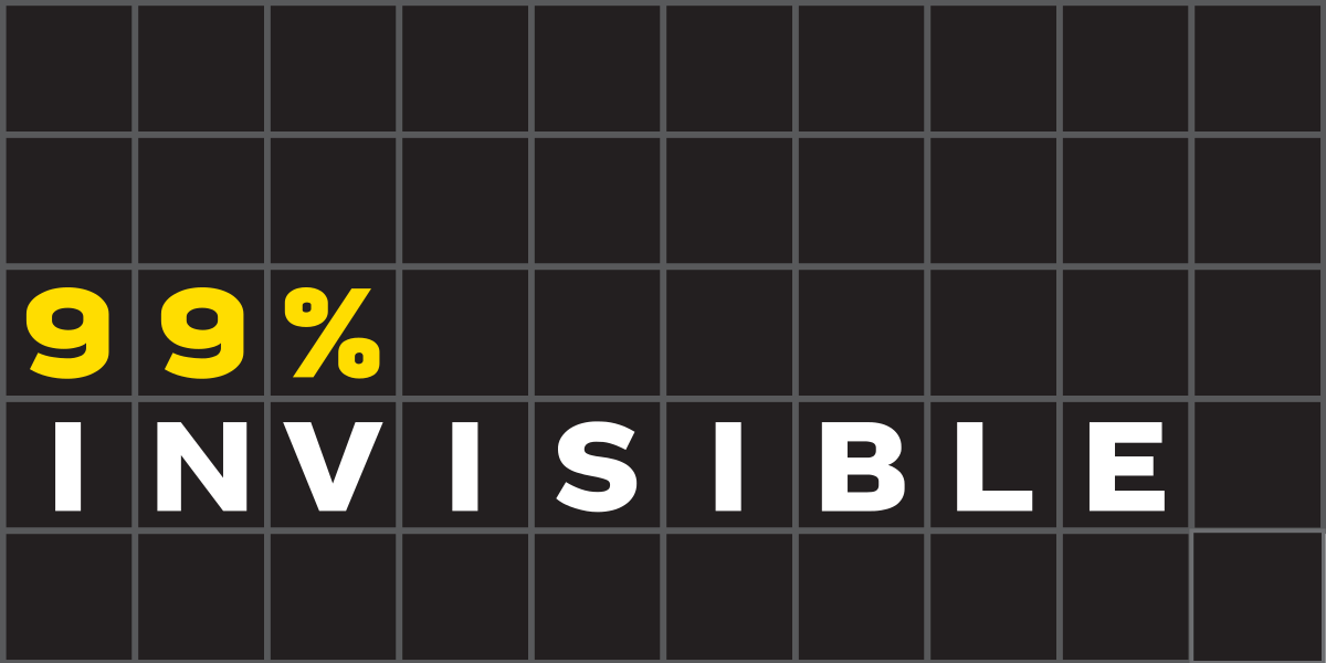 99P Invisible Podcast Logo