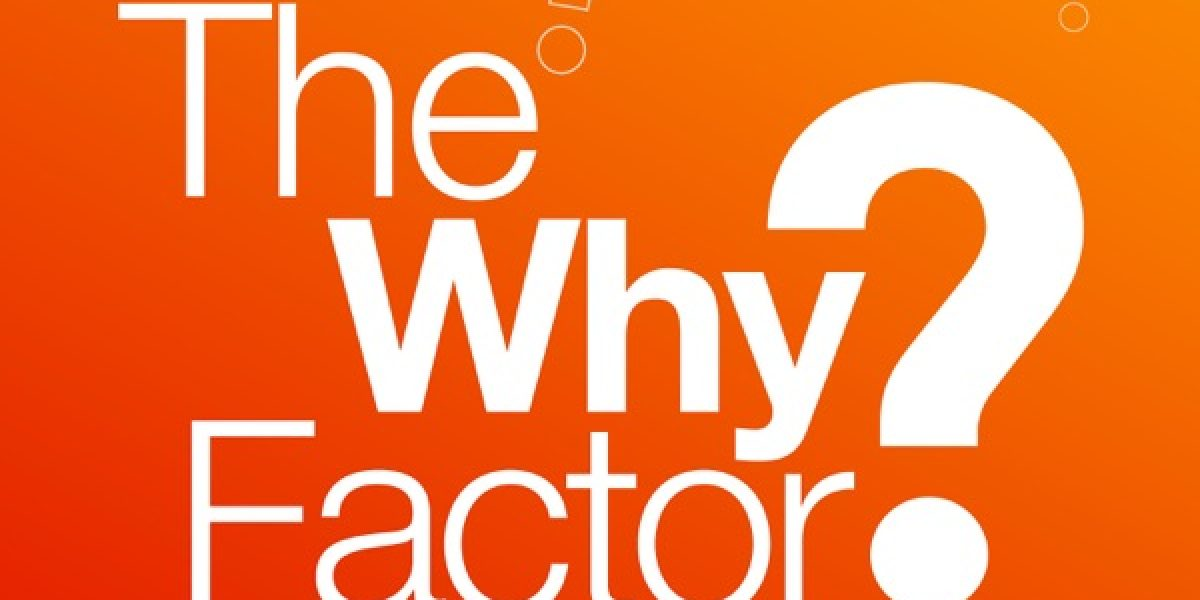 The Why Factor Logo podcast