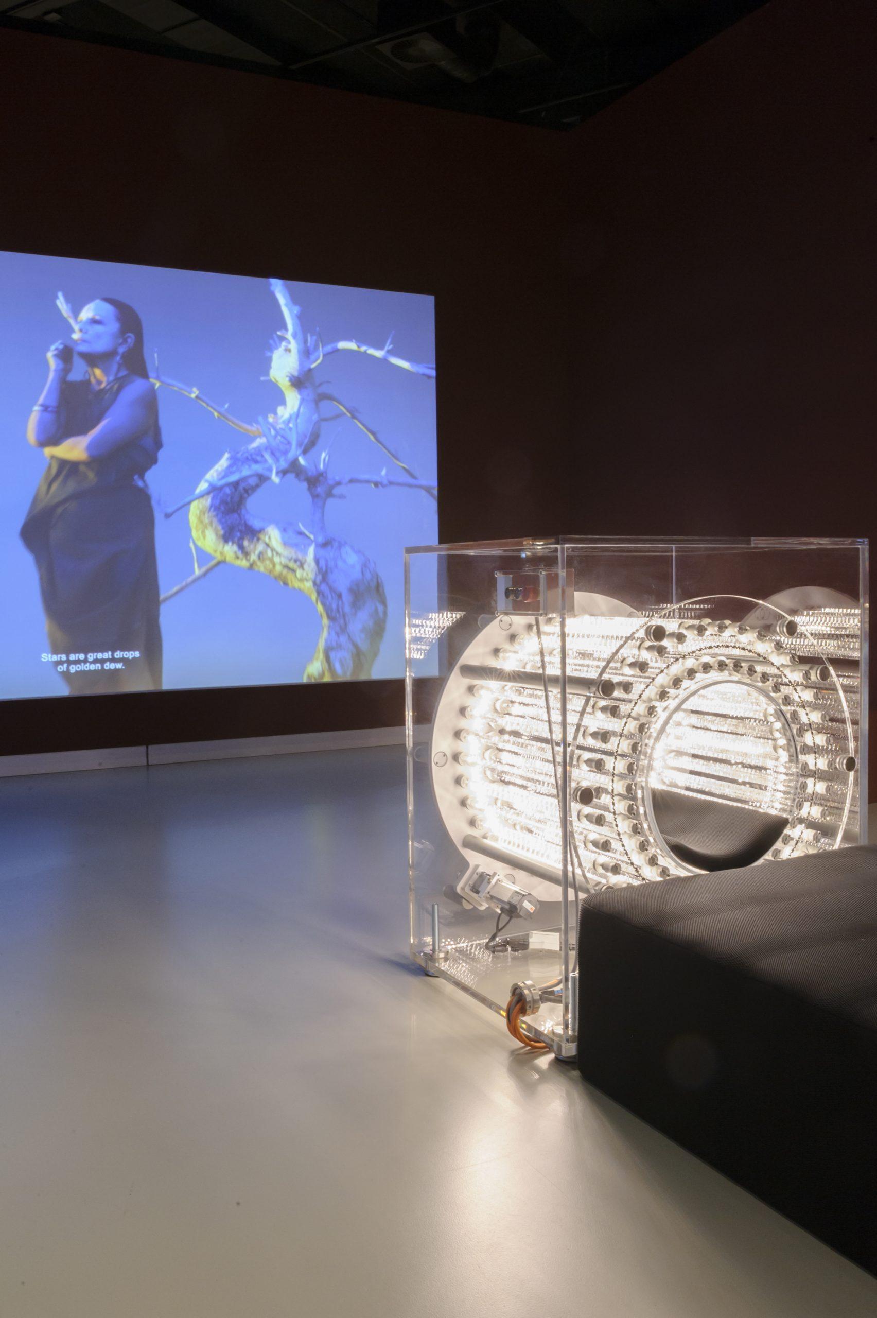 De tentoonstelling BodyDrift Anatomies of the Future. Design Museum Den Bosch. Foto Ben Nienhuis
