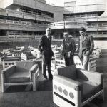 Architecten Walter Pichler, Gustav Peichl en Peter Noever voor het Rehabilitationszentrum Meidling