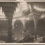 Onbekende fotograaf, Interieur van het Großes Schauspielhaus, Berlijn, door Hans Poelzig, ca. 1919-1920. Co Technische Universität Berlin